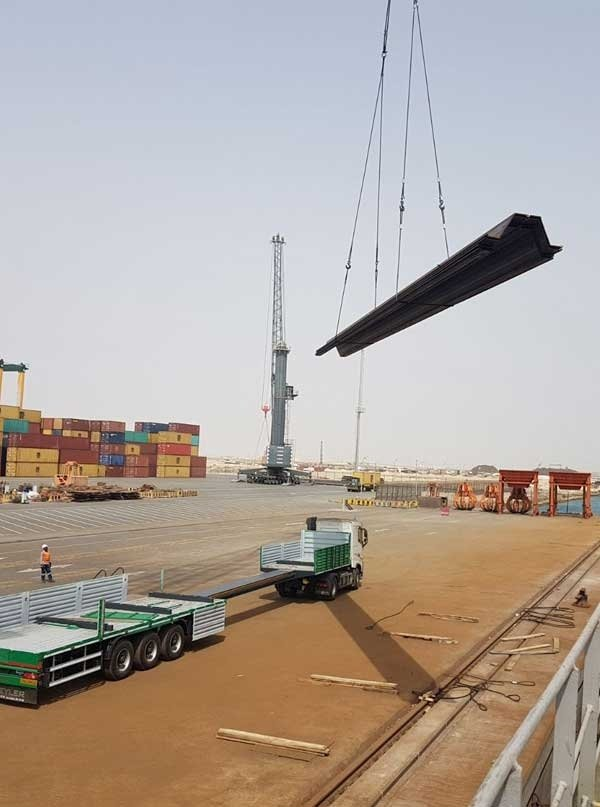 Amsteel - We Can Handle  Transportation, material and port