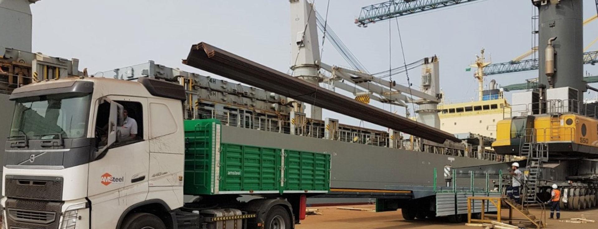 Oversize Cargo Transportation | Amsteel - We Can Handle